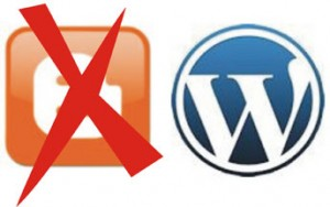 WordPress beats Blogger