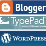 Most Popular Blogging Platforms - Blogger, TypePad and WordPress
