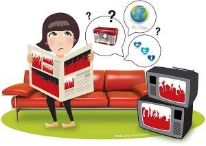 Print, Radio, Online, TV and Social Media