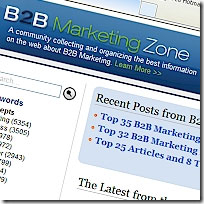 The B2B Marketing Zone - Content Hub for B2B Thought Leadership Content