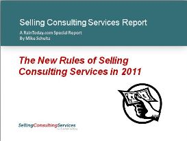New Rules of Selling Consulting Services