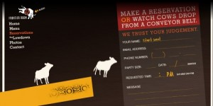 Frontier Room - Creative Reservation Form