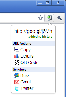 On-the-fly URL Shortener