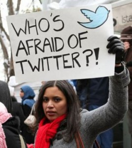 Twitter and social media played a big role in Egypt's revolution