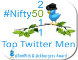 Nifty 50 Top Men of Twitter 2011