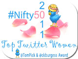 Nifty 50 Top Women of Twitter 2011
