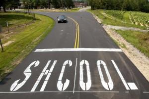 School Typo - Ironic