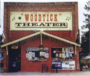 The Woodtick Theater in Akeley, MN