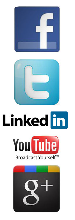 The Big 5 Social Networks