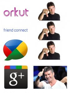 Simon Cowell Approves of Google+