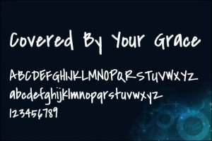 Covered by Your Grace - Web Typeface