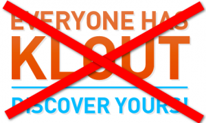 Say No to Klout