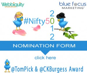 Nominate Someone for the 2012 #Nifty50
