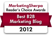 Best B2B Marketing Blog - MarketingSherpa