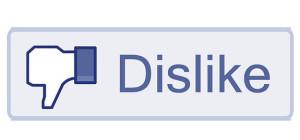 Dislike Social Media Button