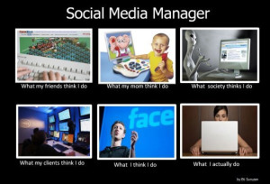 What a social media marketing manager does