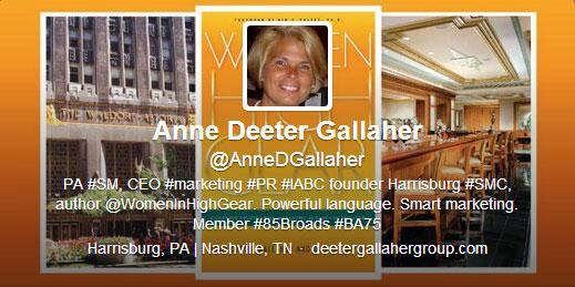 Anne Deeter Gallaher