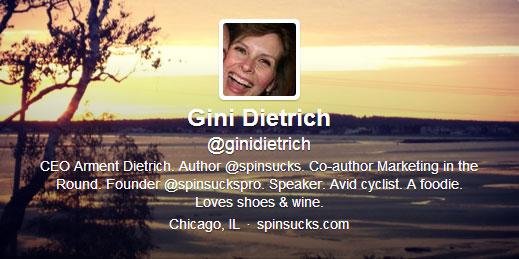 Gini Dietrich