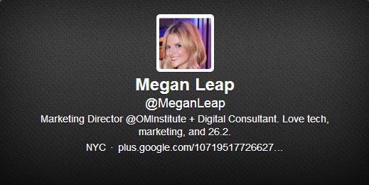 Megan Leap