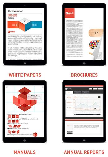Readz Content Examples