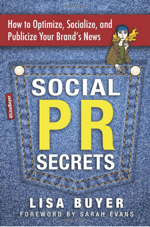 Social PR Secrets by Lisa Buyer - Book Cover