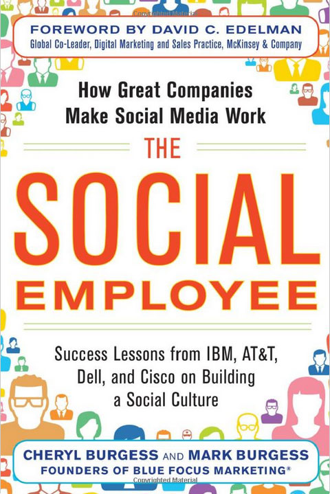 The Social Employee - book by Cheryl Burgess and Mark Burgess