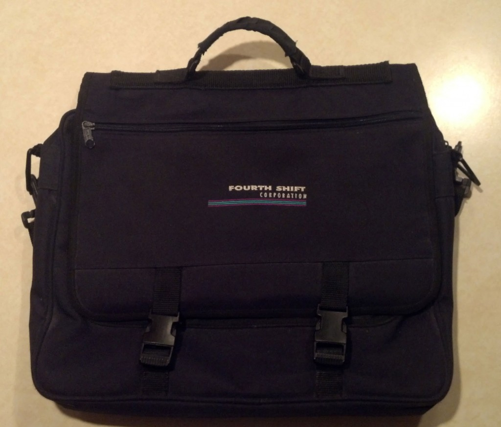 Fourth Shift Software Laptop Bag