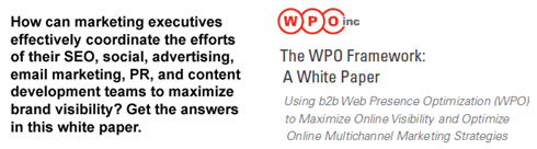 Download the WPO Framework White Paper