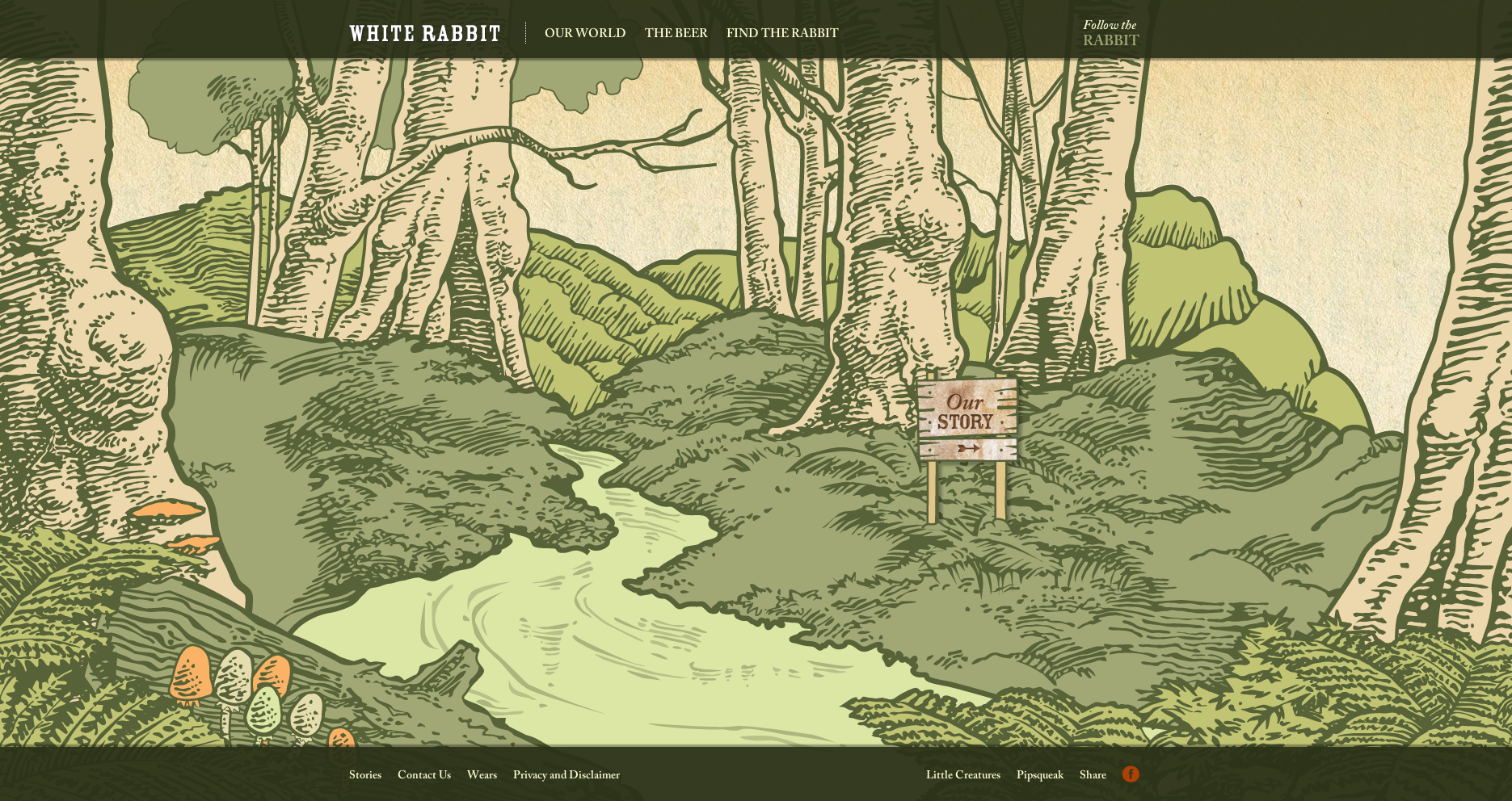 White Rabbit Bear - Creative Website