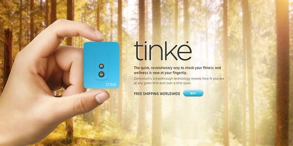Tinke - Website Design Example