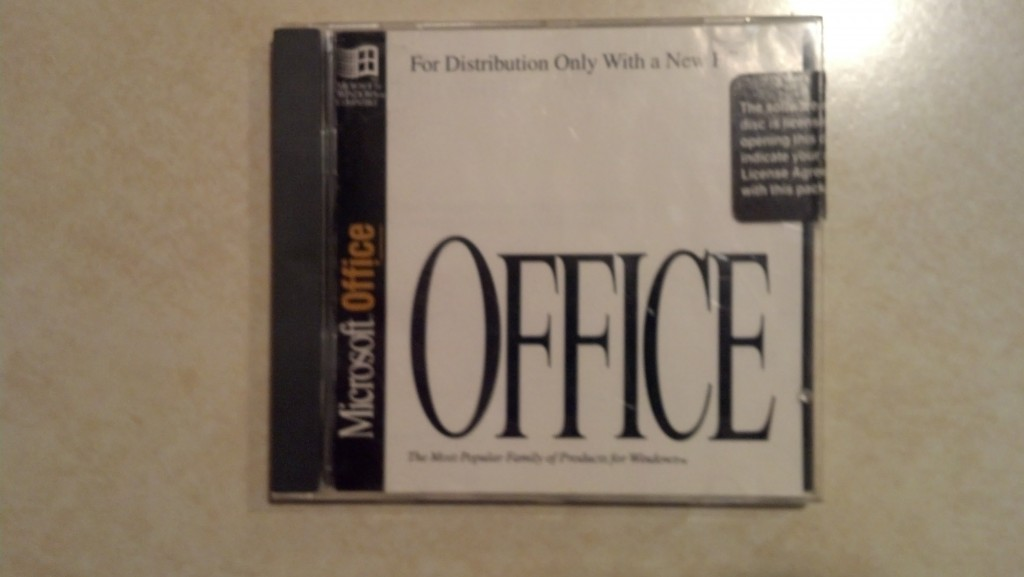 Microsoft Office - original CD