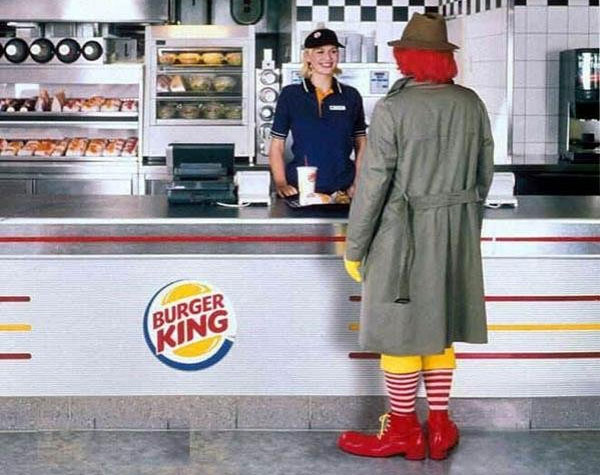 Ronald M. visits Burger King