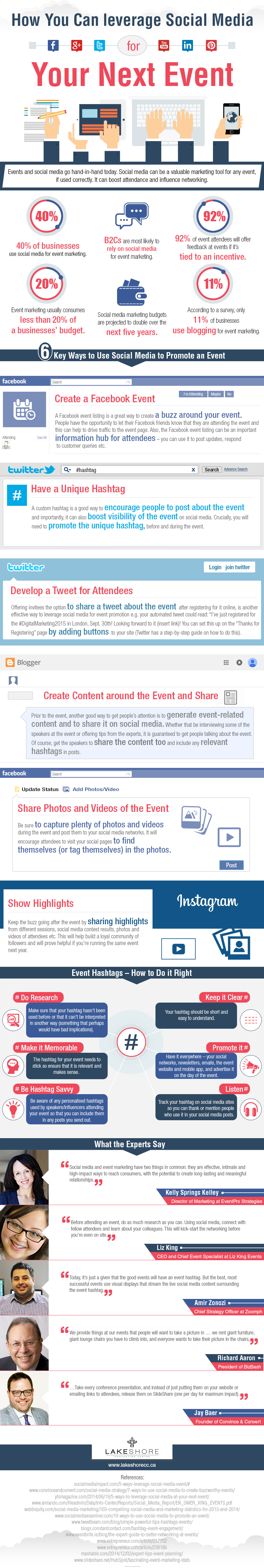 How to leveage social media for event marketing
