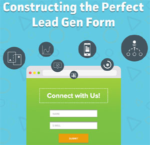 how to design the perfect lead generation form