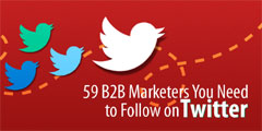 59 B2B Marketing Influencers You Need to Follow on Twitter