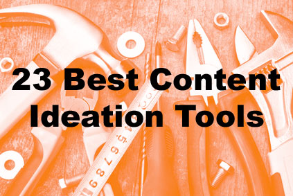 Best tools for ontent marketing ideas and tiopics