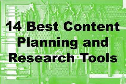 Best content marketing planning and research tools