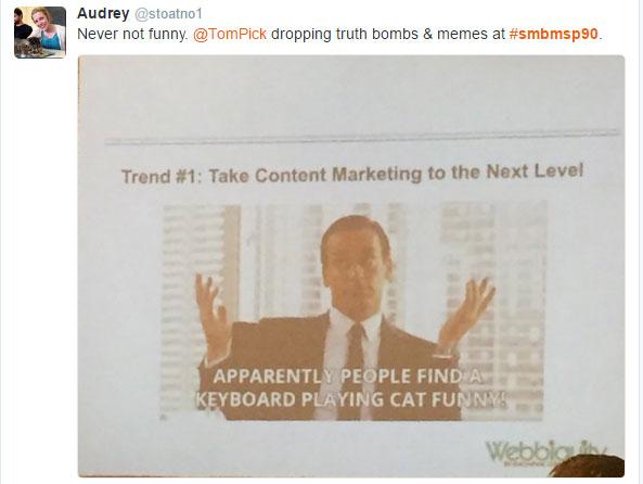 B2B marketing trends - tweet 4