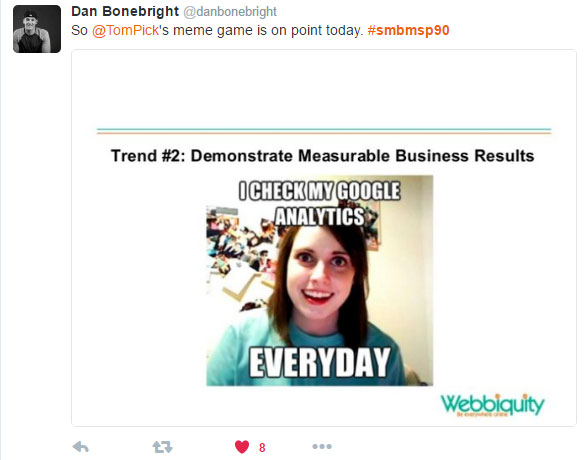 B2B marketing trends 2016 - 2020 tweet 7