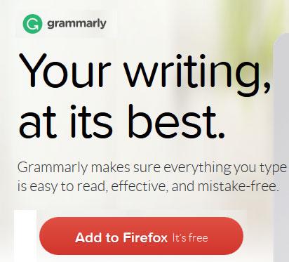 Eliminate grammar errors - Grammarly