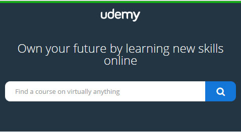 Take courses online - Udemy
