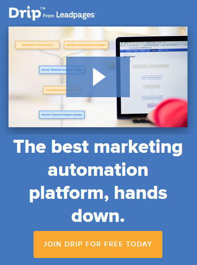 The best marketing automation platform for small business - Drip