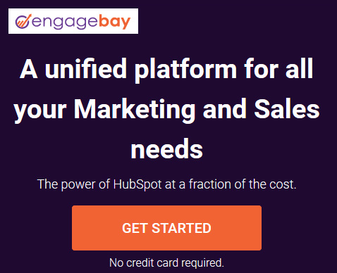 Low cost all-in-one marketing software - EngageBay