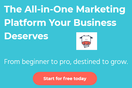 An all-in-one marketing platform to help grow your business