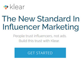 The new standard in influencer marketing - Klear