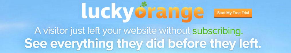 Improve CRO with Lucky Orange