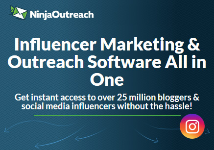 All-in-one influencer marketing software - NinjaOutreach