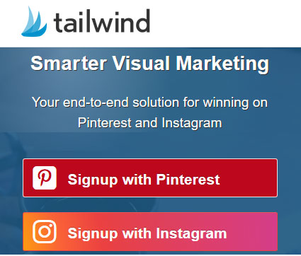 Smart visual marketing on Pinterest and Instagram - Tailwind
