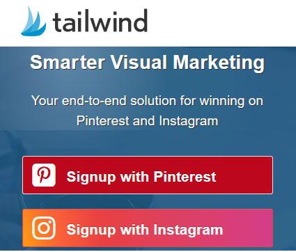 Smart visual marketing on Pinterest and Instagram - Tailwind