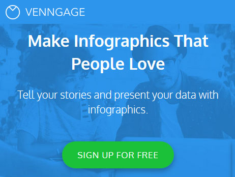 Easily create beautiful infographics with Venngage